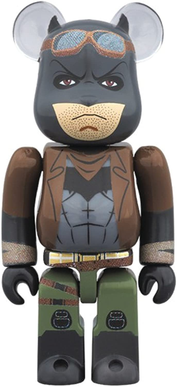 Medicom v Superman  Knightmare Batman 100% Bearbrick Figure