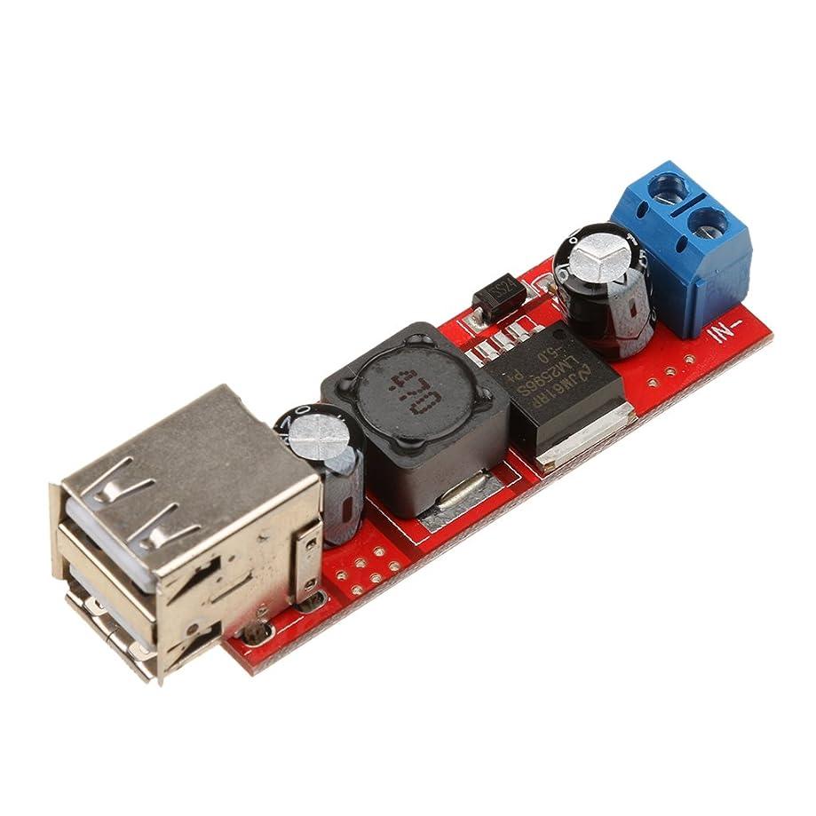 に応じて順番モーションステップダウン デュアルUSB 9V/12V/24V/36V to 5V DC-DC降圧コンバーター 高効率