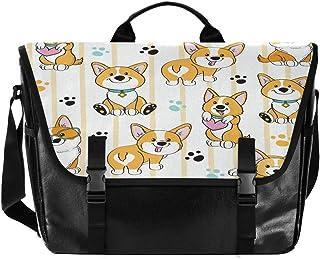 Lindo bolso de lona a rayas de zorro para hombre y mujer, estilo retro, para el hombro, para la escuela, para iPad, Kindle...