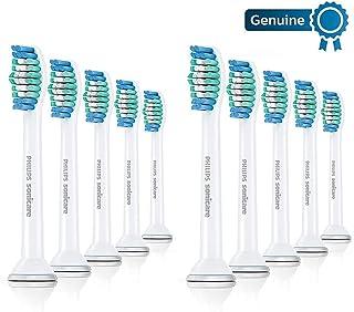 Philips 飞利浦 Sonicare基本清洁更换刷头,10支,白色-HX6010/30