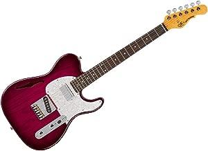 G&L Tribute Series Asat Classic Bluesboy Semi-Hollow Electric Guitar - Redburst/Brazilian Cherry - TI-ACB-121R22R33