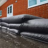 Down Spout Diverter by New Pig   Garage Water Barrier   Water Barriers for Flooding  Manage Flooding and Rainwater Runoff   2' L (5-Pack)