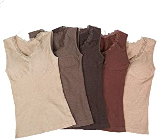 JASMINE SILK Pura Seta Damen Negligee Chemise Camicia da Notte Avorio