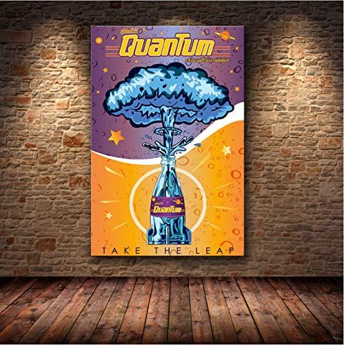 mohanshop Pintura Sin Marco Fallout 3 4 Juego Poster Wall Art Canvas Poster Y Print Canvas Imagen Decorativa para Dormitorio Dibujo A475 (40X50Cm) Sin Marco
