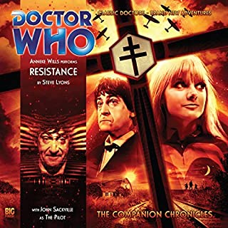 Doctor Who - The Companion Chronicles - Resistance cover art