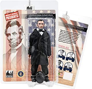 Figures Toy Company US Presidents 8 Inch Action Figures Series: Abraham Lincoln [Black Suit]