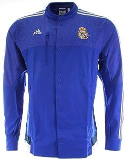 adidas Real Madrid CF Anthem Jacket (BOBLUE/White)