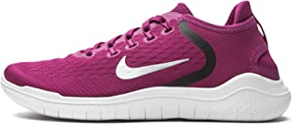 Nike Women's Free RN 2018 Running Shoes Berry White Size