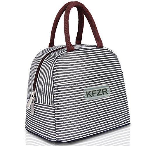 KFZR Lonchera con Bolsa De Almuerzo con Aislamiento para Hombres Mujeres Bolsa De Refrigerador con Bolsa Grande para NiñOs