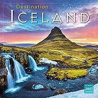 アイスランドの風景 Destination Iceland 2021 カレンダー