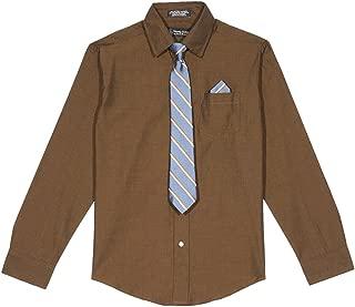 Steve Harvey Big Boys' Shirt and Tie Set