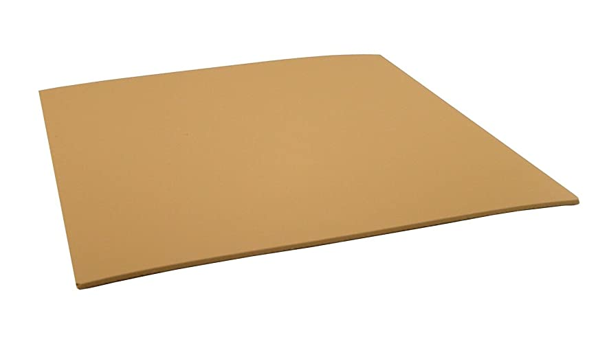 Speedball 4377 Unmounted Linoleum Block – Flat Surface Easy Carving For Block Printing Tan, 12 x 12 Inches