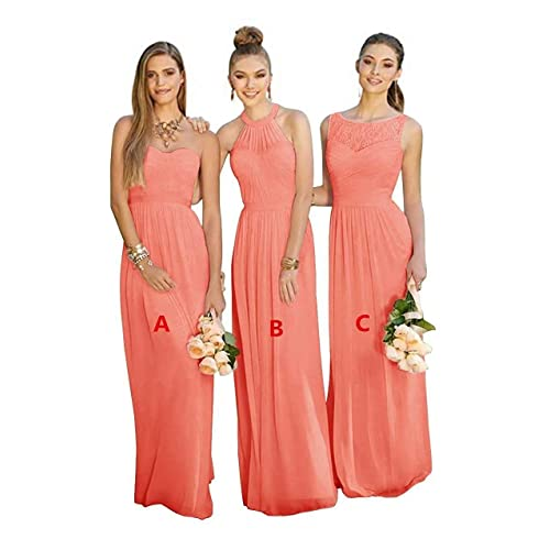 a3c0198553 Coral Bridesmaid Dresses: Amazon.com