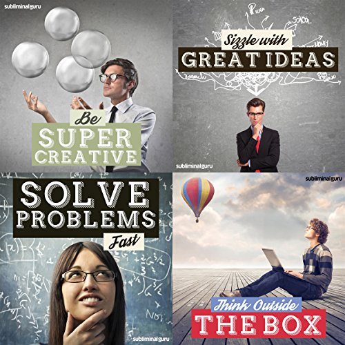 Creative Thinking Subliminal Messages Bundle audiobook cover art