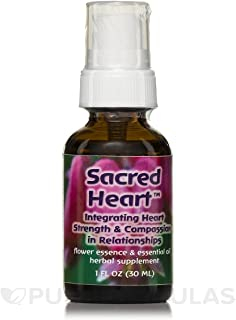 Flower Essence Services Sacred Heart Flower Essence Essential Oil 1 fl oz 30 ml