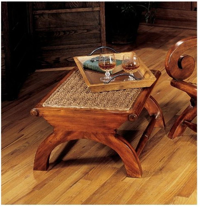 Design Toscano British Plantation Footstool