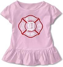SC_VD08 Detroit Fire Dept. Kids Children Short-Sleeved Tshirts Clothes