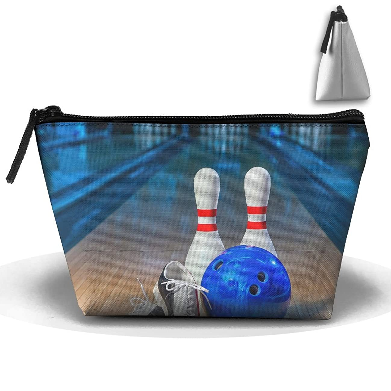 Travel Cosmetic Bags Bowling Shoes Small Makeup Bag Multifunction Pouch Cosmetic Handbag Toiletries Organizer Bag for Women Girl