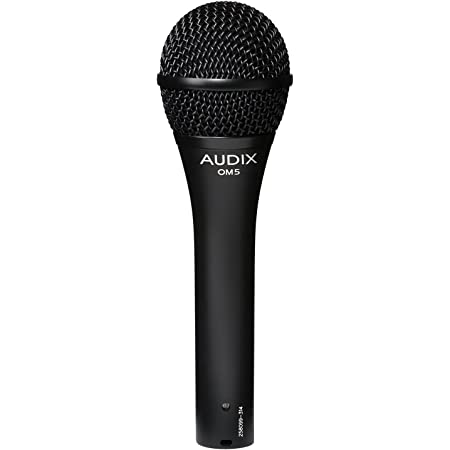 AUDIX (オーディックス) ボーカル向け ダイナミックマイク ハイパーカーディオイド OM5 【国内正規品】