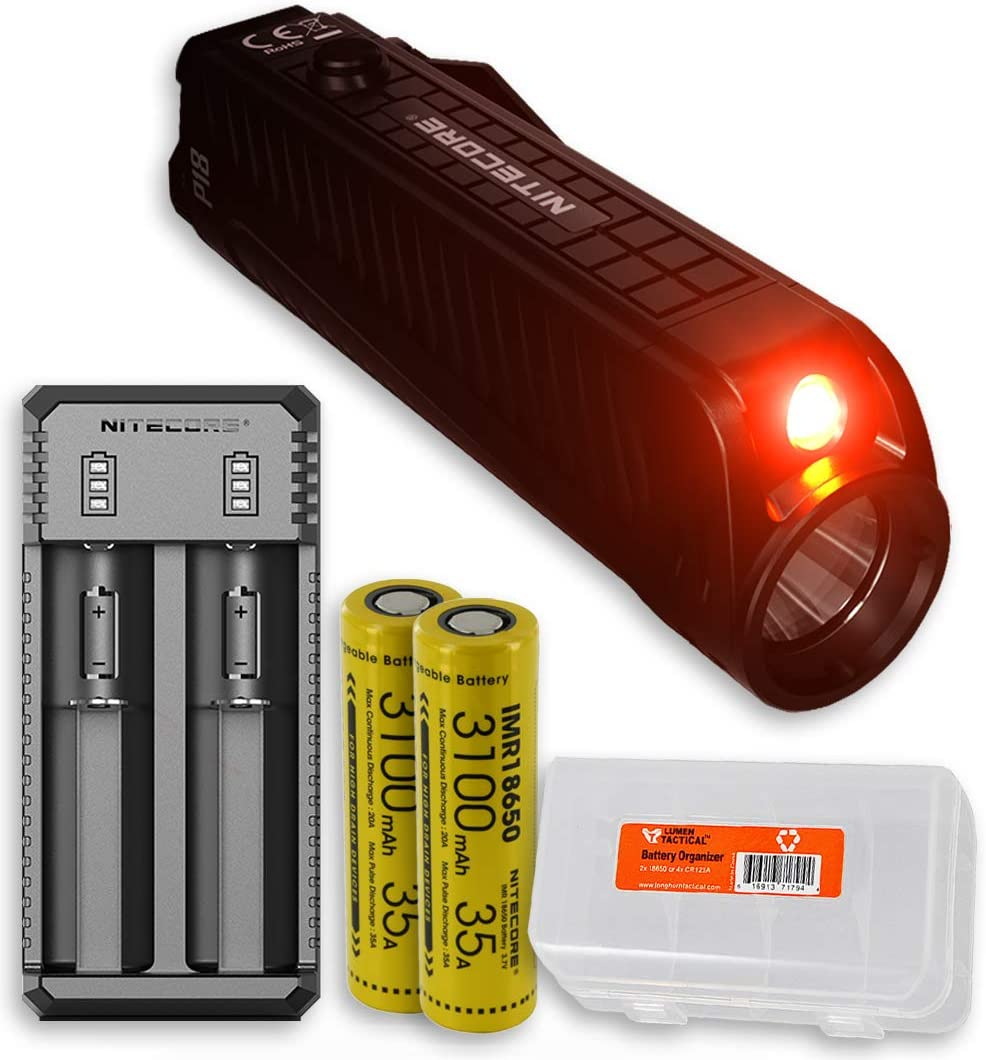 Nitecore P18 shop High material 1800 Lumen Compact Silent Tactical Flashlight with