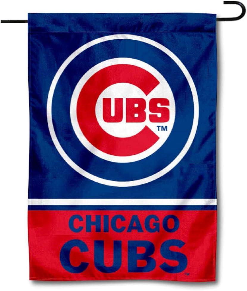 WinCraft Chicago Baseball Double Sided Garden Flag