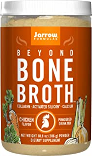 Jarrow Formulas Beyond Bone Broth Powdered Drink Mix, Chicken Flavor, 10.8 Ounce (306 g)