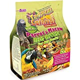 F.M. Brown's Tropical Carnival Natural Parrot, Cockatoo, and Macaw Food for Big...