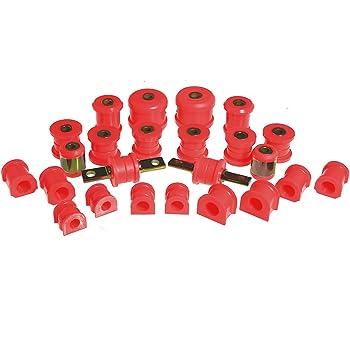Prothane 8-1137 Red 15 mm Rear Sway Bar Bushing Kit
