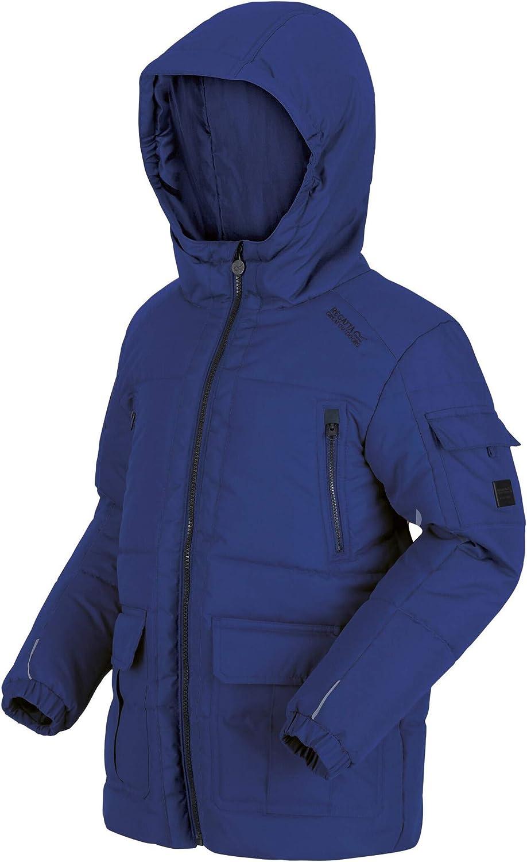 Regatta Perico Water Repellent Fabric With Thermoguard Insulation Chaqueta Beb/é-Ni/ños