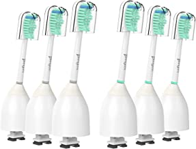 E-series Replacement Toothbrush Heads - Upgraded Quality and Compatible with all Philips Sonicare Screw-on Electric Toothb...