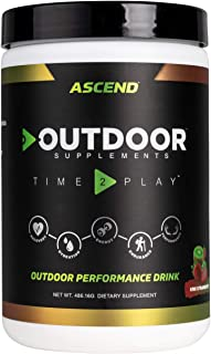Outdoor Supplements Ascend — Energy and Recovery Supplement — Kiwi Strawberry
