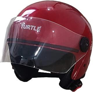 Boston Half Face Helmet (Multi Color) (Red)