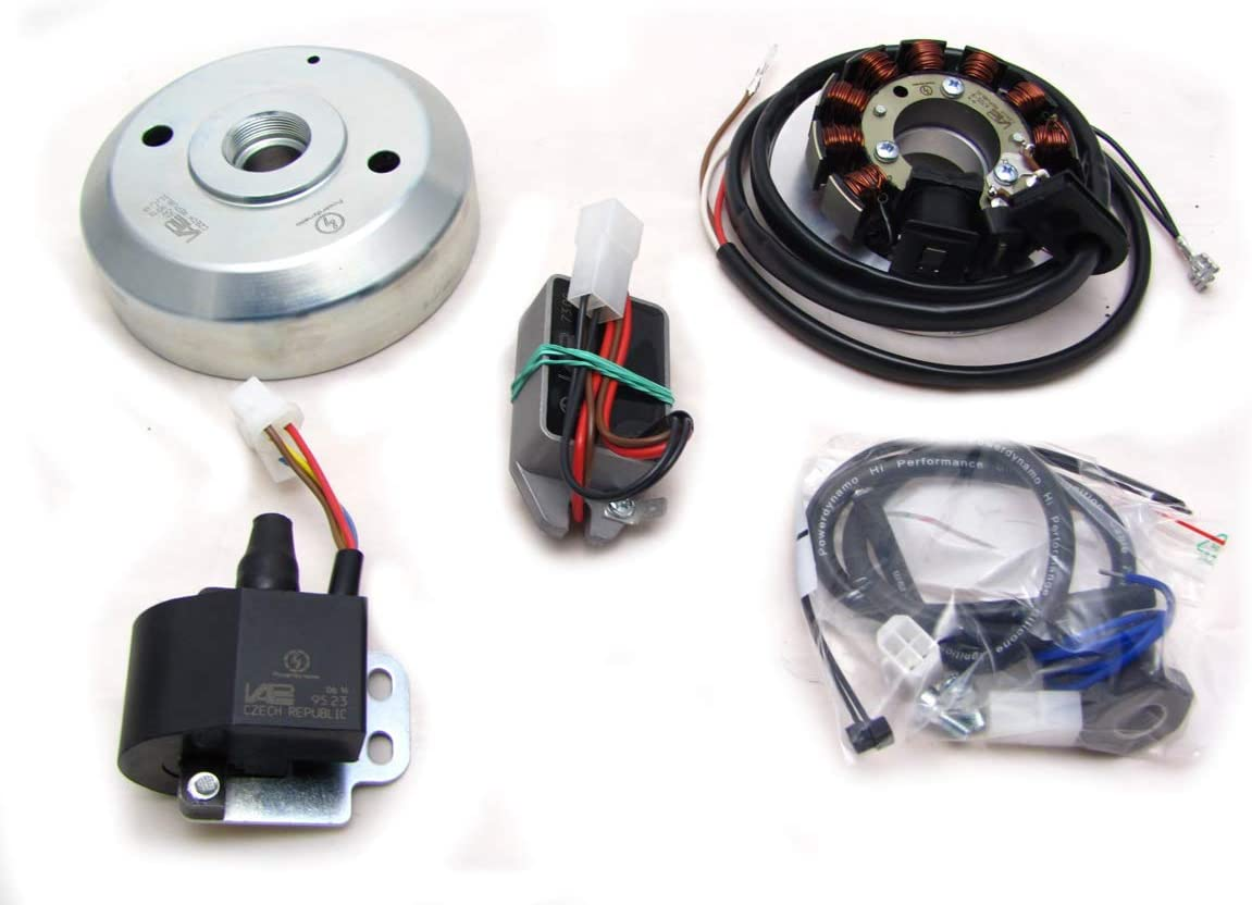 Powerdynamo VAPE Ignition System Compatible with Kawasaki Max 59% Great interest OFF Stator