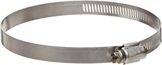 Ideal-Tridon 63 Series High-Nickel Stainless Steel Worm Gear Hose Clamp, General Purpose, 52 SAE Size, Fits 2-3/4 - 3