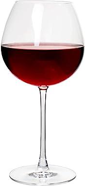 Premium Sommelier Collection - Copas de vino cristalinas de Bourgogne, sin plomo, 24 onzas, juego de 4