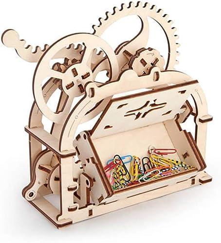 EP-Toy 3D Laserschneiden Holzmodell, Kreative Visitenkarte Box für Kinder Erwachsene DIY Geburtstagsgeschenk (7,8 X 3,6  X 7,4 )