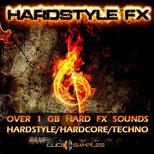 Hardstyle FX Pack, Sons Hardstyle, Effets Hardstyle, Sons HardcoreWAV Files DVD non BOX