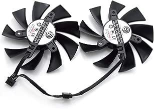 FidgetFidget 85mm Sapphire Vapor-X HD 7950 7970 R9 280X Dual Fan PLA09215B12H