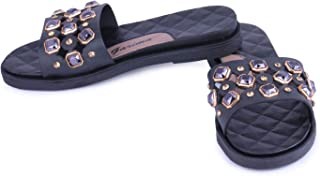 WMK Women's Slippers Indoor House or Outdoor Latest Fashion Beige Flipflop Slipper for Women