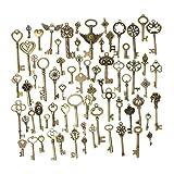 KING DO WAY 69 Retro Bronze Schlüssel Anhänger Schmuck Steam Punk Deko Für Halskette Kette