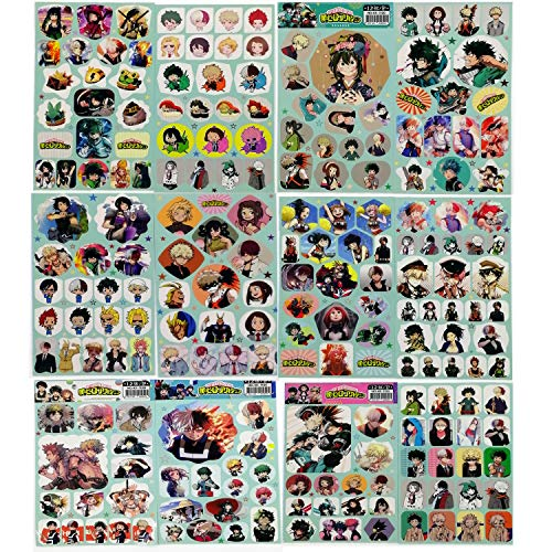 My Hero Academia Bag Gift Set Bag+Bracelet+Keychain+Button+Phone Holder+Stickers or Poster or Pillow Case or Necklace