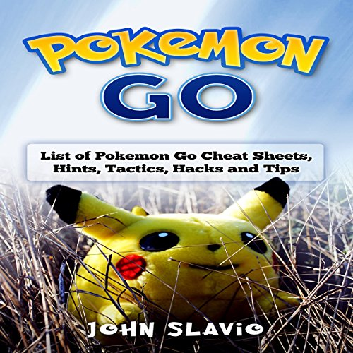 Pokemon Go audiobook cover art