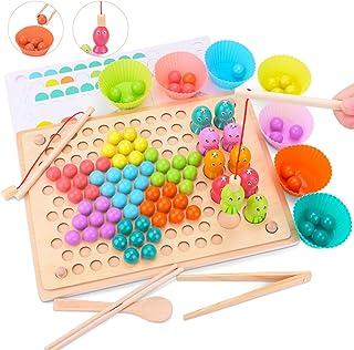 Juguete Educativo de Primera Infancia para Crear Multiples Combinacones, Creativo Juguete Educativo para Niños y Padres, E...