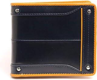Kiefer neu キーファーノイ Ciao-wallet チャオシリーズ最 バッグとお揃いで持ちたい!美しいムラ染レザーとイタリーレザーの折財布