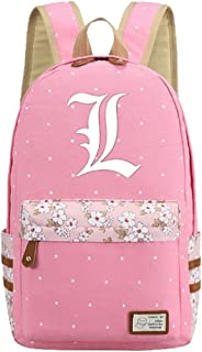 Luminous Anime Death Note Cosplay College Bag Daypack Bookbag Backpack School Bag