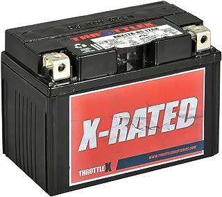ThrottleX Batteries - ADX12A-BS - AGM Replacement Power Sport Battery