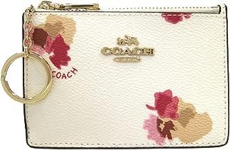 [コーチ] COACH コーチ財布 フローラルプリント コインケース パスケース F-65439 LIF2N ホワイト [並行輸入品]