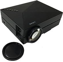 Junpro Mini Portable Video Projector - Multimedia LCD LED Home Cinema Theater Projector 1000 Lumens 800x480P with Keystone...