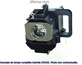 Powerlite D6155W Epson Projector Lamp Replacement. Projector Lamp Assembly with Genuine Original Osram P-VIP Bulb inside.