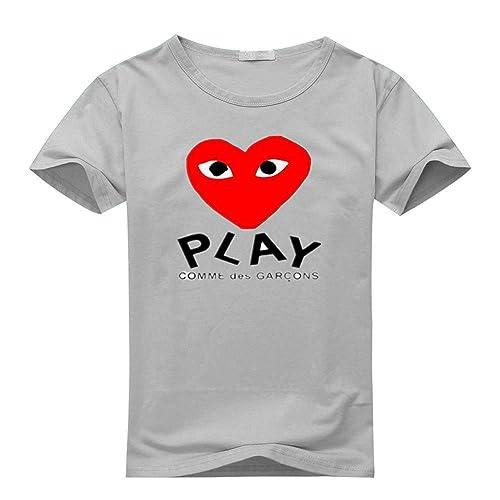 7c500857 Comme Des Garcon Play Carol B Rosen Mens T-Shirts Pattern 1